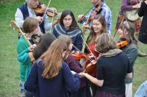 Fiddle fun at AlgomaTrad