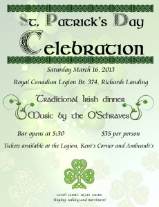 St. pat's dinner poster 2013 copy
