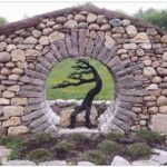 dry stone wall image