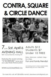 avening dance poster pic