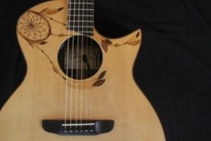 Zach's guitar