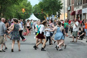 AlgomaTrad Street Dance in the Sault, 2013