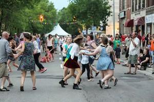AlgomaTrad Street Dance in the Sault, 2013