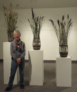 Sheila Ziman & biodiversity baskets