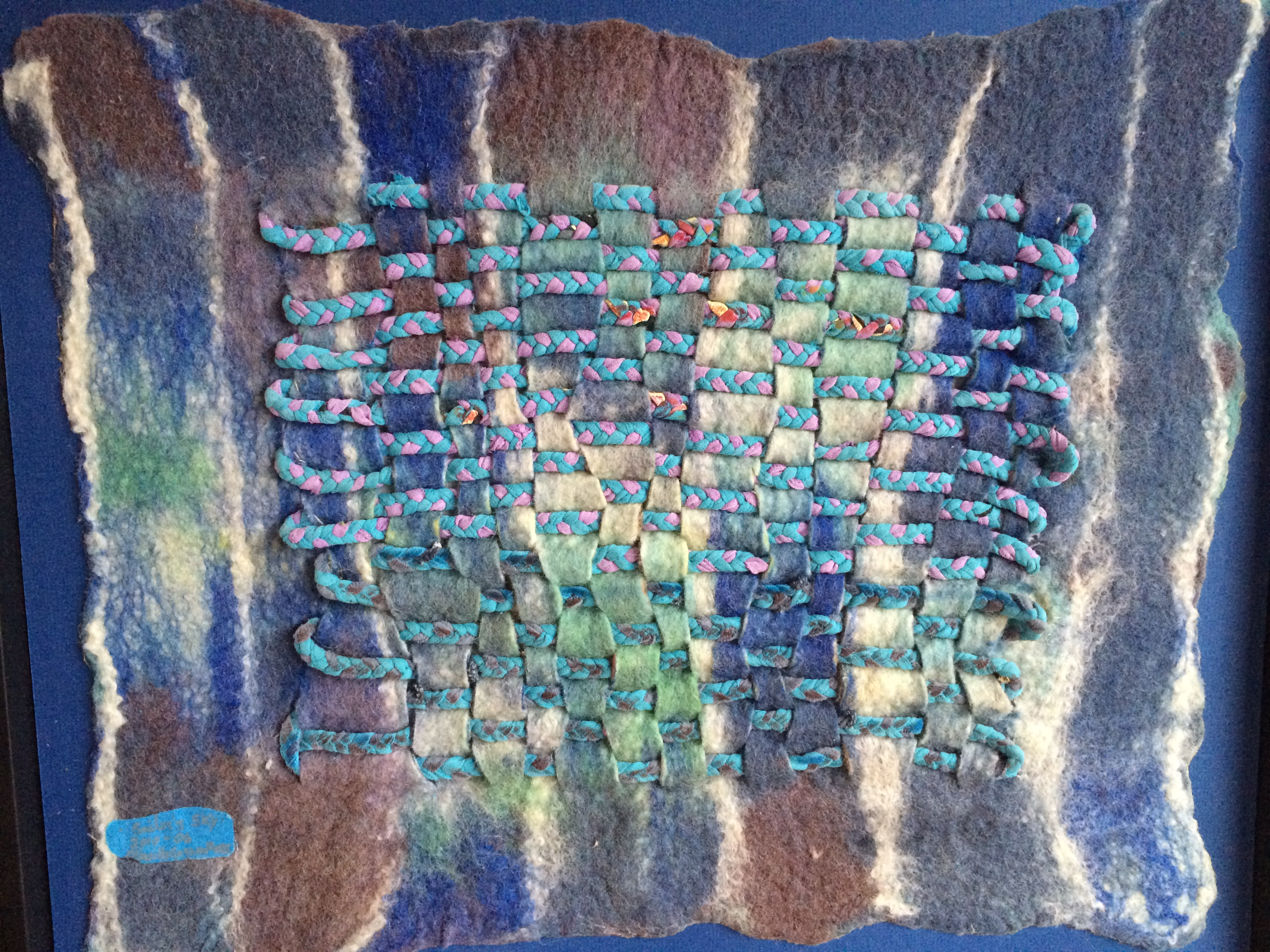 2021 Summer Intermediate Wool Felting