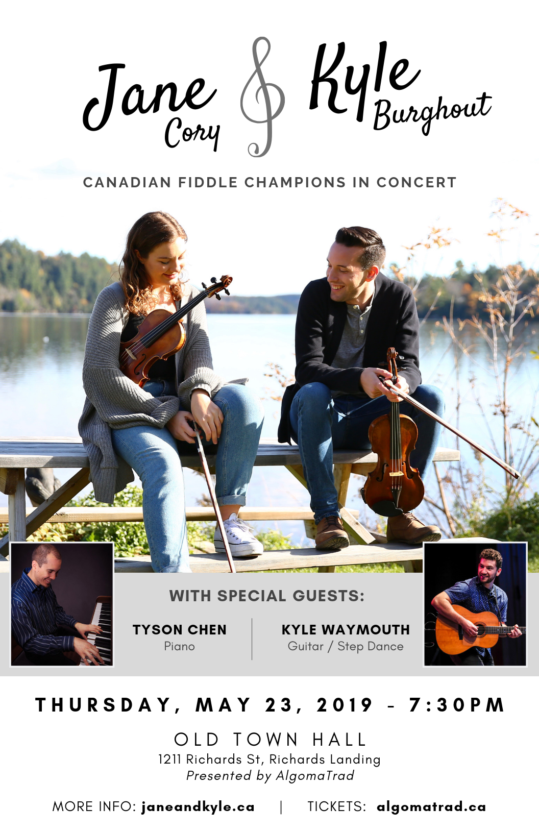 Jane Cory and Kyle Burghout in Concert