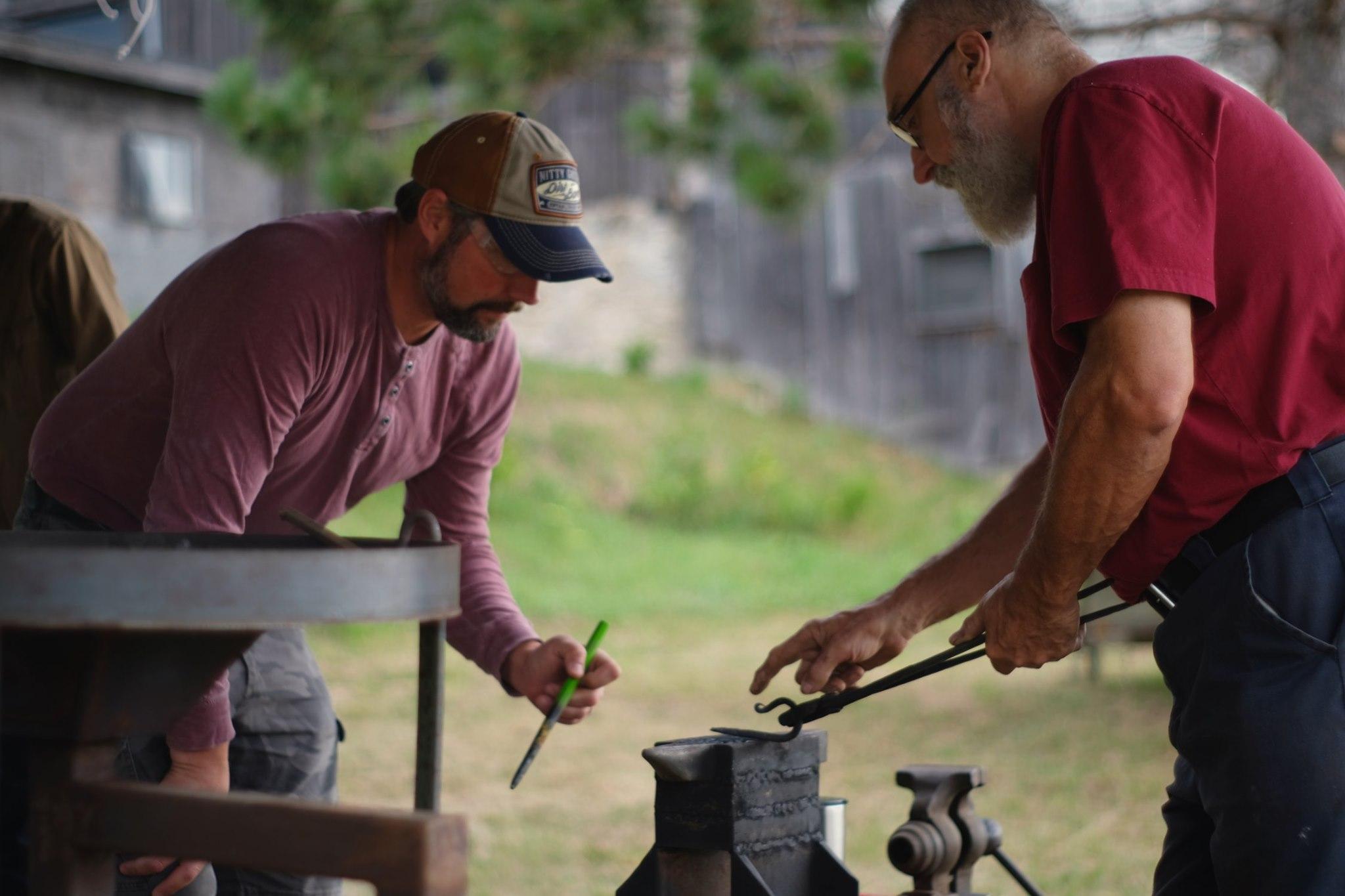 2021 Summer Blacksmith Session